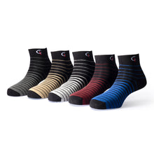Load image into Gallery viewer, Elite (2) - Assorted Pack of 5 - 100% Cotton Spandex Premium Quality Socks