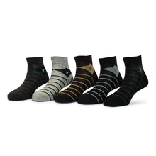 Load image into Gallery viewer, Elite (9) - Assorted Pack of 5 - 100% Cotton Spandex Premium Quality Socks - Men