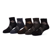 Load image into Gallery viewer, Elite (3) - Assorted Pack of 5 - 100% Cotton Spandex Premium Quality Socks - Men