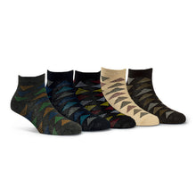 Load image into Gallery viewer, Elite (12) - Assorted Pack of 5 - 100% Cotton Spandex Premium Quality Socks - Men