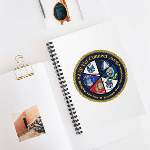 SPIRAL NOTEBOOK - Ruled Line | US Vet Connect Inc. | Bridging the Gap | Triumph Over Tribulation