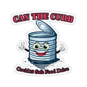 STICKERS | Can The Curb | Covid-19 Safe Food Drive