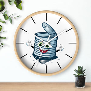 WALL CLOCK | Can The Curb