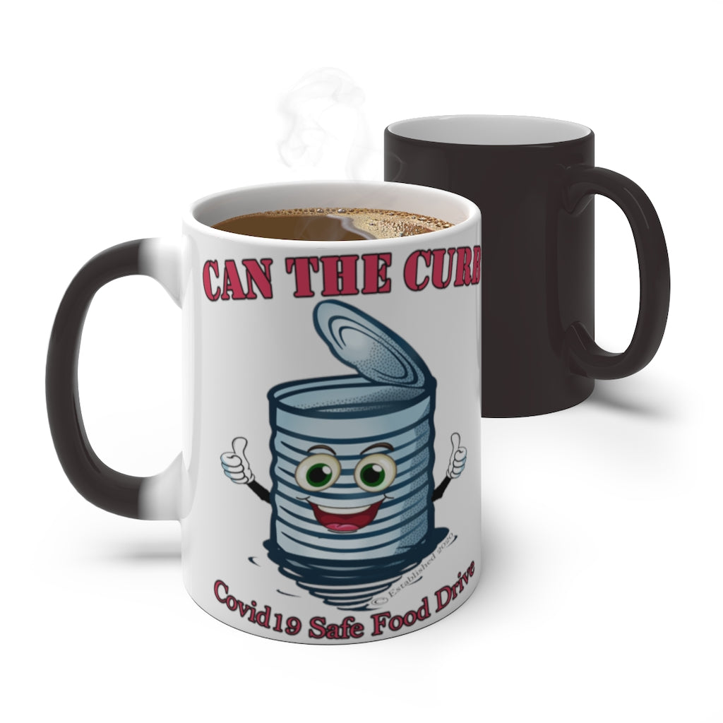 COLOR CHANGING MUG | Can the Curb | Covid-19 Safe Food Drives