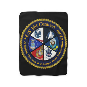 SHERPA FLEECE BLANKET X-LARGE | US Vet Connect |  Bridging the Gap | Triumph Over Tribulation