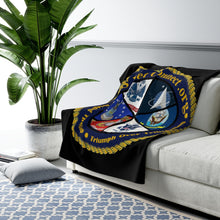 Load image into Gallery viewer, SHERPA FLEECE BLANKET X-LARGE | US Vet Connect |  Bridging the Gap | Triumph Over Tribulation