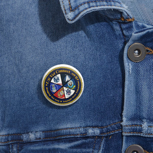 CUSTOM PIN | US Vet Connect US Vet Connect Inc | Bridging the Gap | Triumph over Tribulation