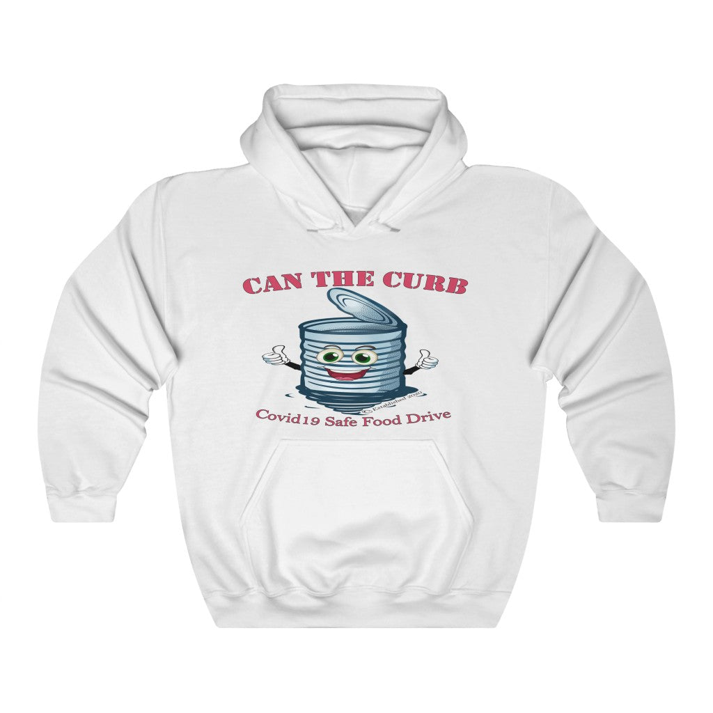HOODED SWEATSHIRT | Can The Curb | Covid-19 Safe Food Drive
