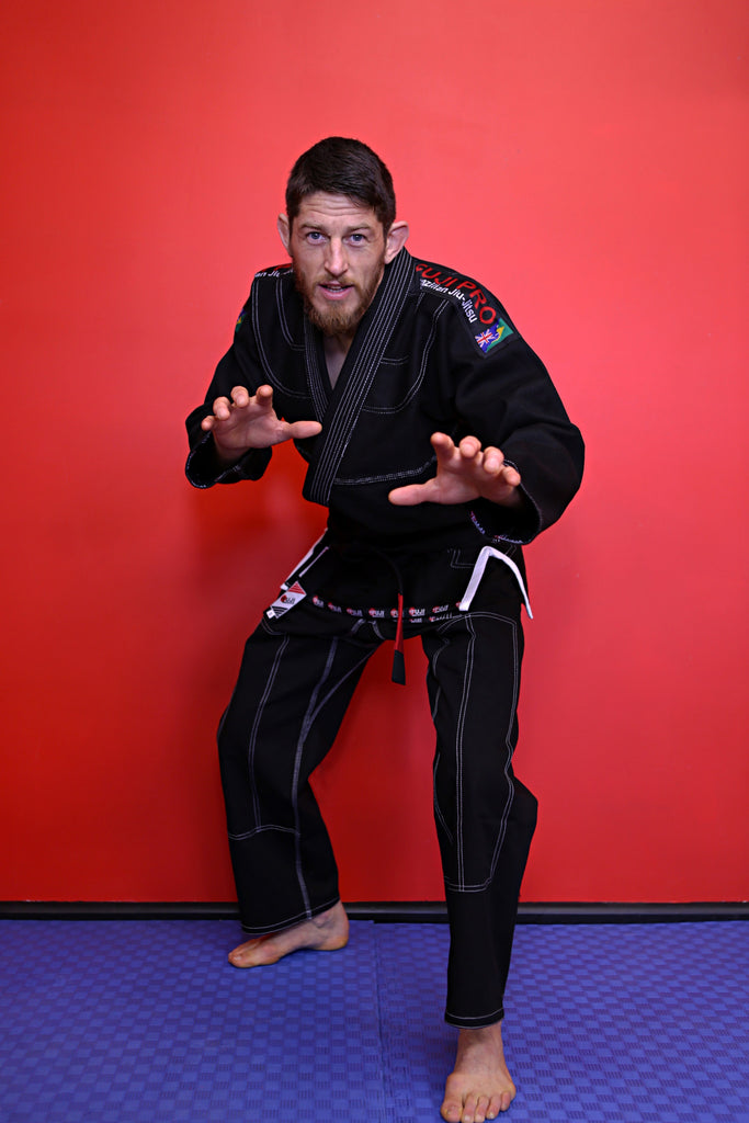 "10405700 BJJ Fuji Pro ""ORIGINS"" Black Gi with Rip Stop Pants"