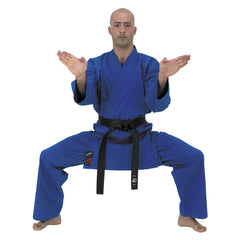 10131 Blue Karate Gi 9oz (Older Design)