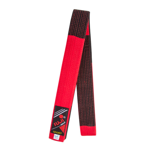 B10545  Special Master Belt. Red/Black
