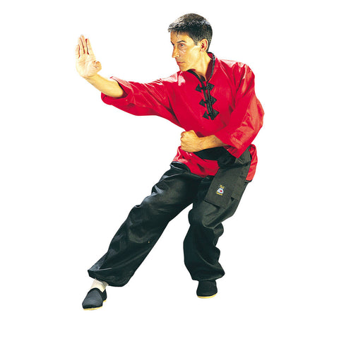 10640 Kung Fu Uniform Red/Black
