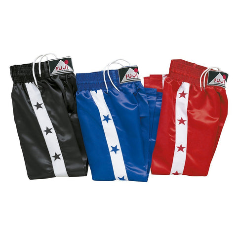 11320 Satin Trousers with Stars in Side Strips