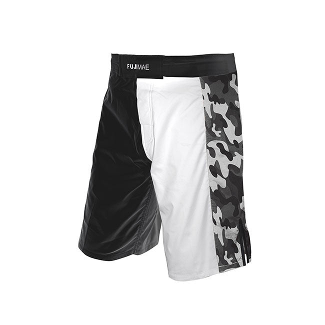 11924 MMA ProWear Short (Army Black/White)