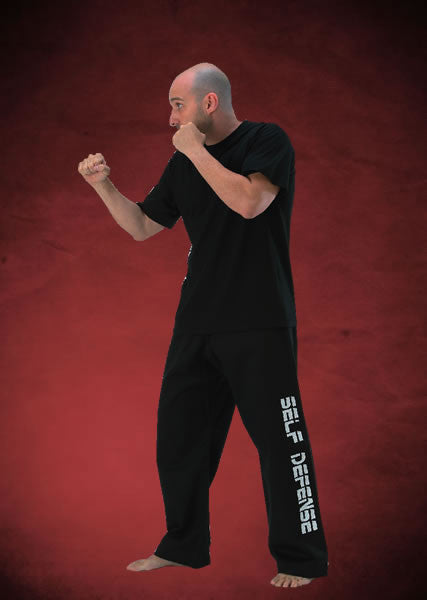 Self Defence D.C.A Trousers In Black