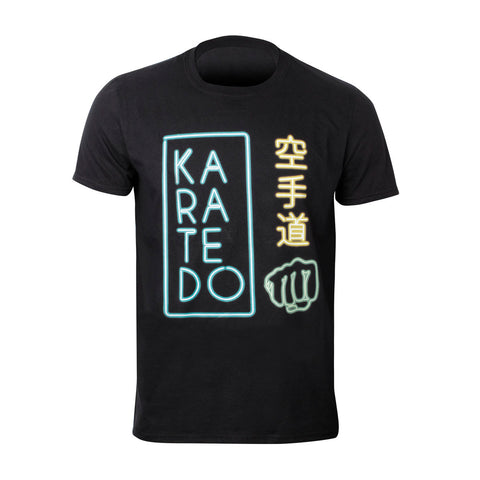 14210 Karate T Shirt. Neons