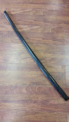 40180 Bokken with Rounded Tip & Etched Dragon Spiral Made of Kamagong Wood