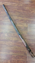 40181 Bokken with Rounded Tip Made of Kamagong Wood