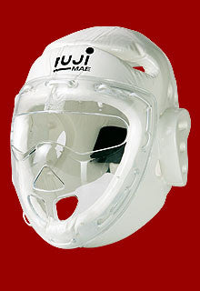 21626 Head guard with transparent face mask