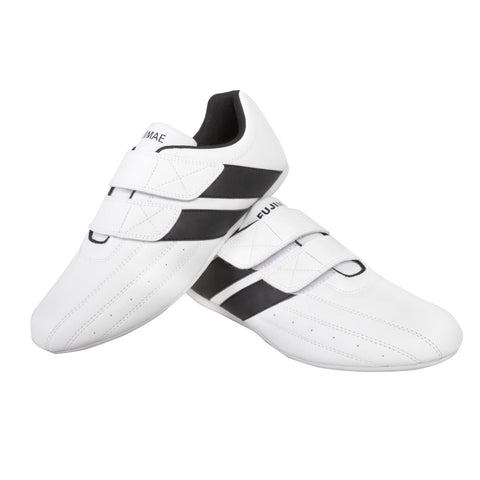 3080344  TKD DOUBLE POWER VELCRO SHOES WHITE