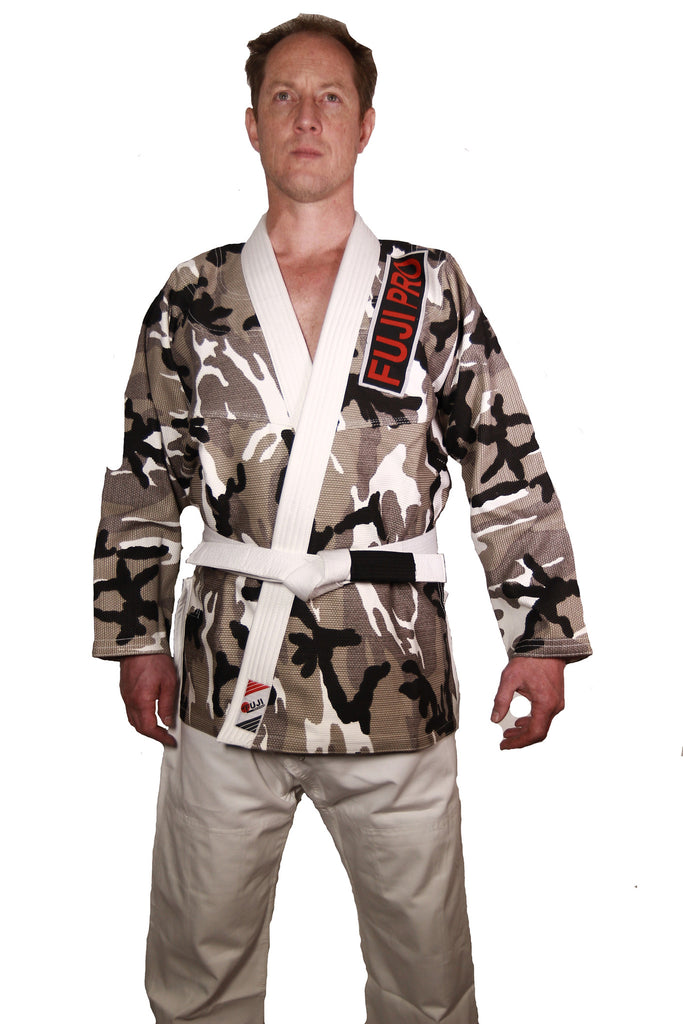 "10405170 BJJ Camo ""ORIGINS"" Pearl Weave Gi with Rip Stop Pants"
