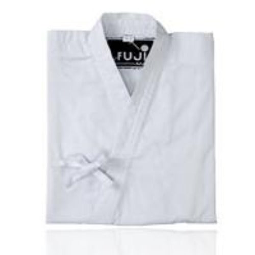 11152  Aikido Jacket. White. Cotton.