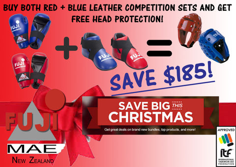 CHRISTMAS COMBO PACK #2  2018 ITF COMPETTION COMBO