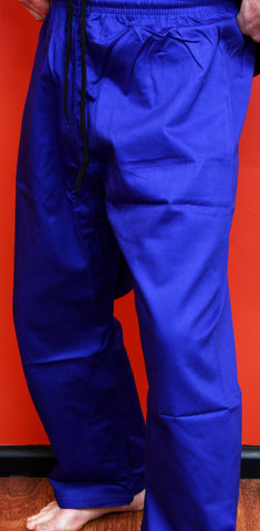 10178 Karate Pants Blue