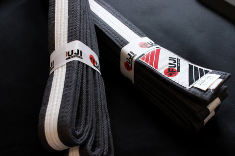 BJJ Junior Belts - White Stripe
