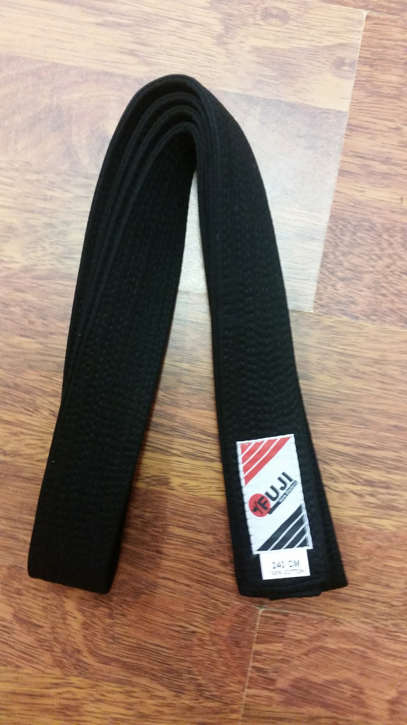BBLACKITF ITF Black Belt 5 cm wide