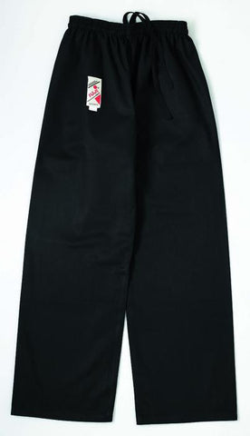 10180 Karate Pants Black