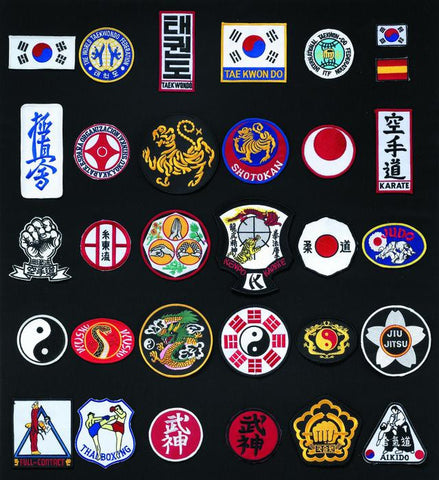 33200 Embroidered Shields - All Styles
