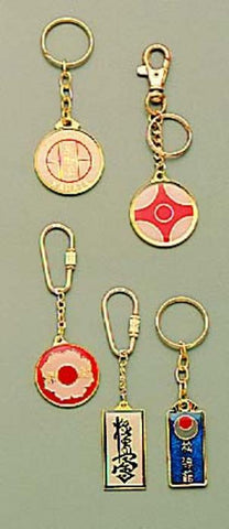 Metal Keyrings Enamel