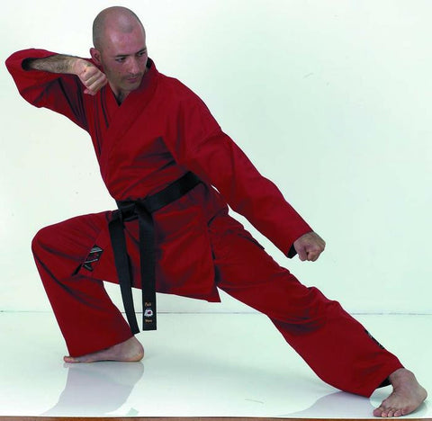 10132 Red Karate Uniform