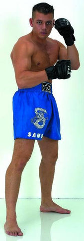 Sanda Shorts In Blue
