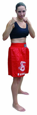 Sanda Shorts In Red