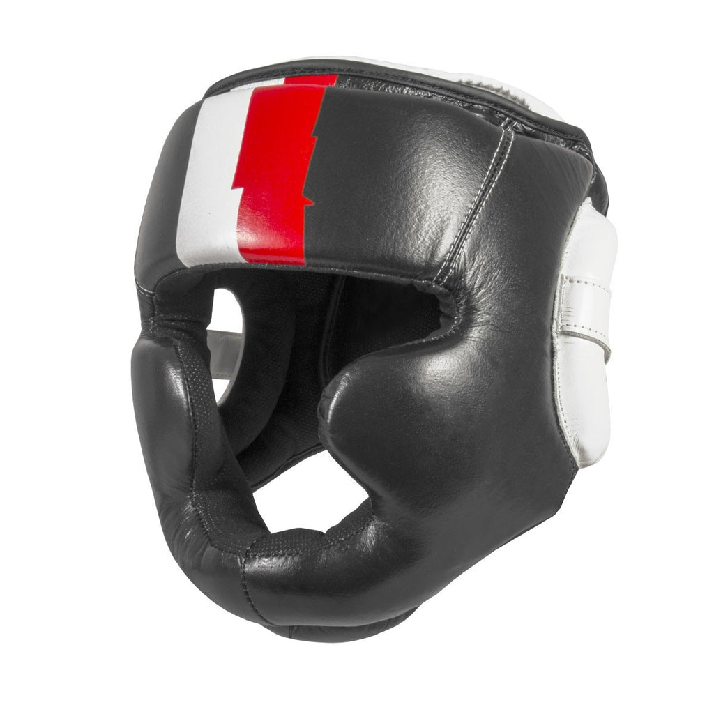 21630 700 ProSeries Leather Head Guard - Black