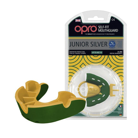 Opro MULTI-ITEM F3424      ~ OPRO SILVER MOUTHGUARD JUNIOR New zealand nz vaughan