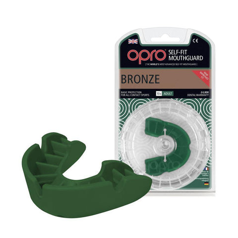 F3432      ~ OPRO BRONZE MOUTHGUARD ADULT