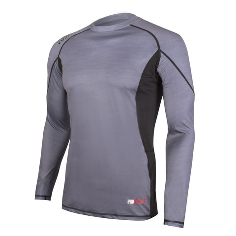 Rashguard Prowear Long Sleeve Grey