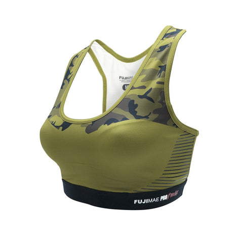 206374 PROWEAR SPORTS BRA. ARMY