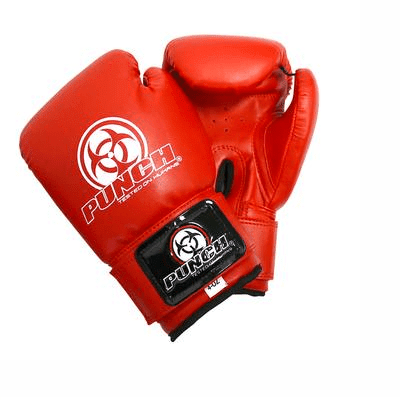 Punch Equipment 9011042    ~ URBAN JNR BOXING GLOVE 4oz RED New zealand nz vaughan