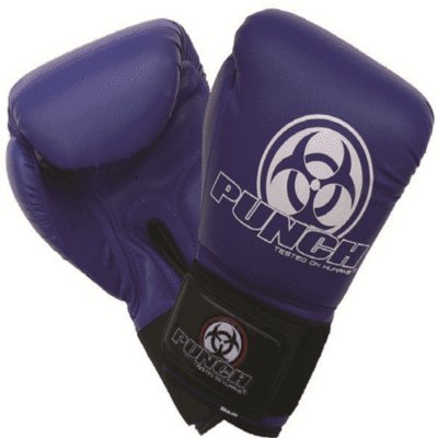 Punch Equipment MULTI-ITEM 901135     ~ URBAN BOXING GLOVES BLUE New zealand nz vaughan
