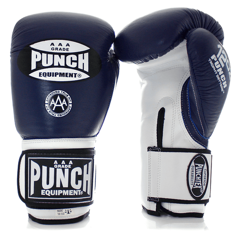 Punch Equipment MULTI-ITEM 902035     ~ TROPHY GET GLOVES BLUE/WHITE New zealand nz vaughan