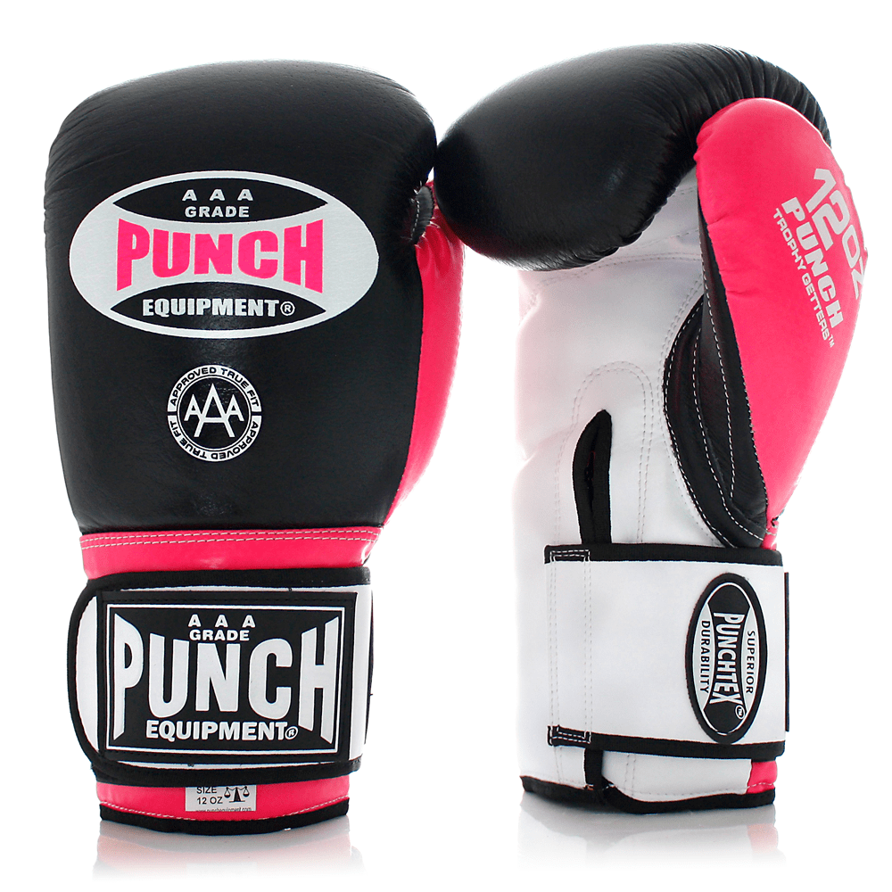 Punch Equipment MULTI-ITEM 902053     ~ TROPHY GET GLOVES PINK/BLACK New zealand nz vaughan