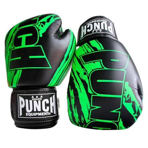 90283     ~ PUNCH FANCY BLACK/GREEN