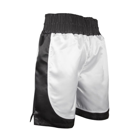 BOXING SHORTS WHITE/BLACK