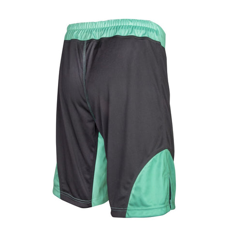 11926 MMA ProWear Short (Black/Green)