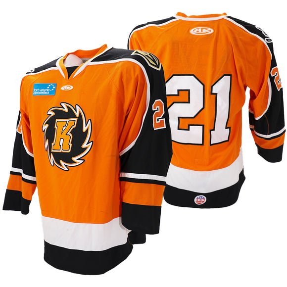 2020 Orange Game Issued Jersey - #21 | XL