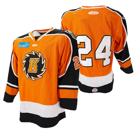 2020 Orange Game Issued Jersey - #24 | XL